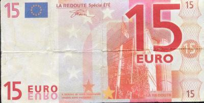 Billet 15€